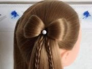 simple style hair