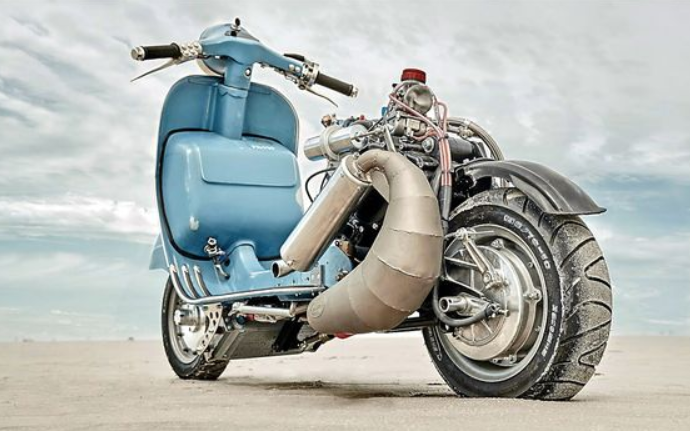 amazing vespa modification