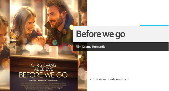 film drama romantis before we go